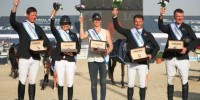 New Zealand were crowned champions in the FEI Nations Cup event.